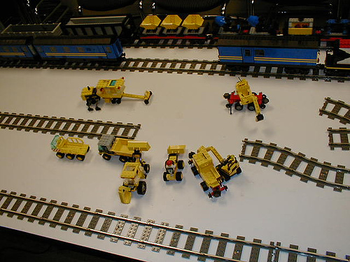 LegoTrainTracks